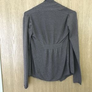 Express Drapey Open Front Cardigan